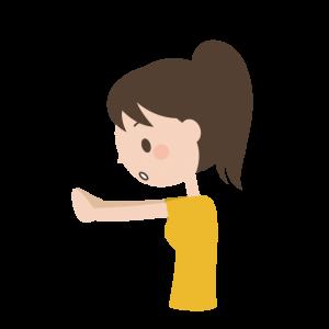 指で距離を測る方法