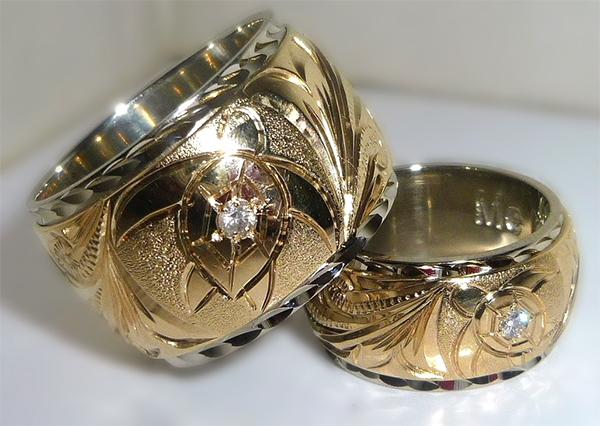 ハワイオブジュンコ(ハワイアンジュエリー)結婚指輪